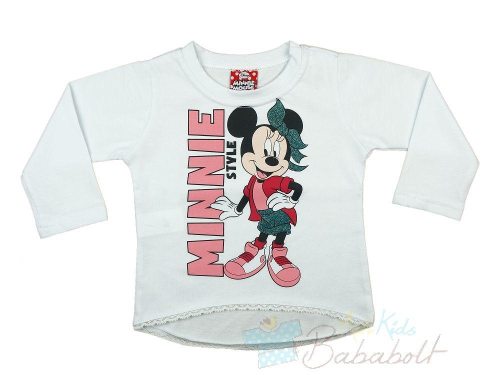 Disney Minnie baba gyerek hosszú ujjú póló (méret  74-116) - Póló ... 4e954404af