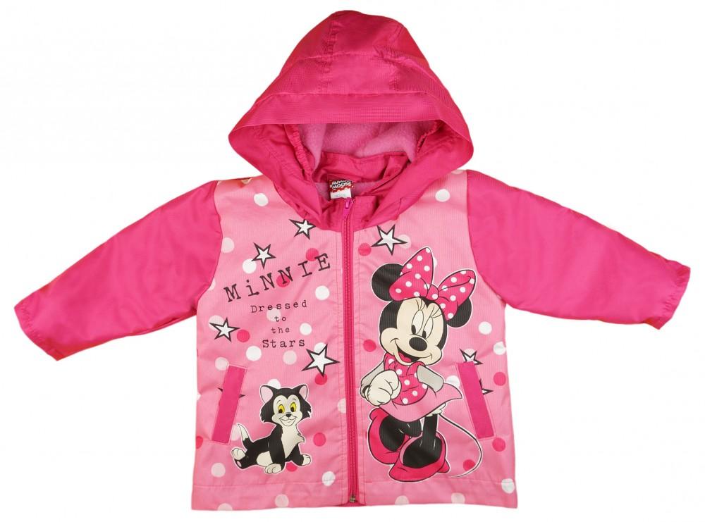 Disney Minnie vízlepergetős polár béléses átmeneti kabát