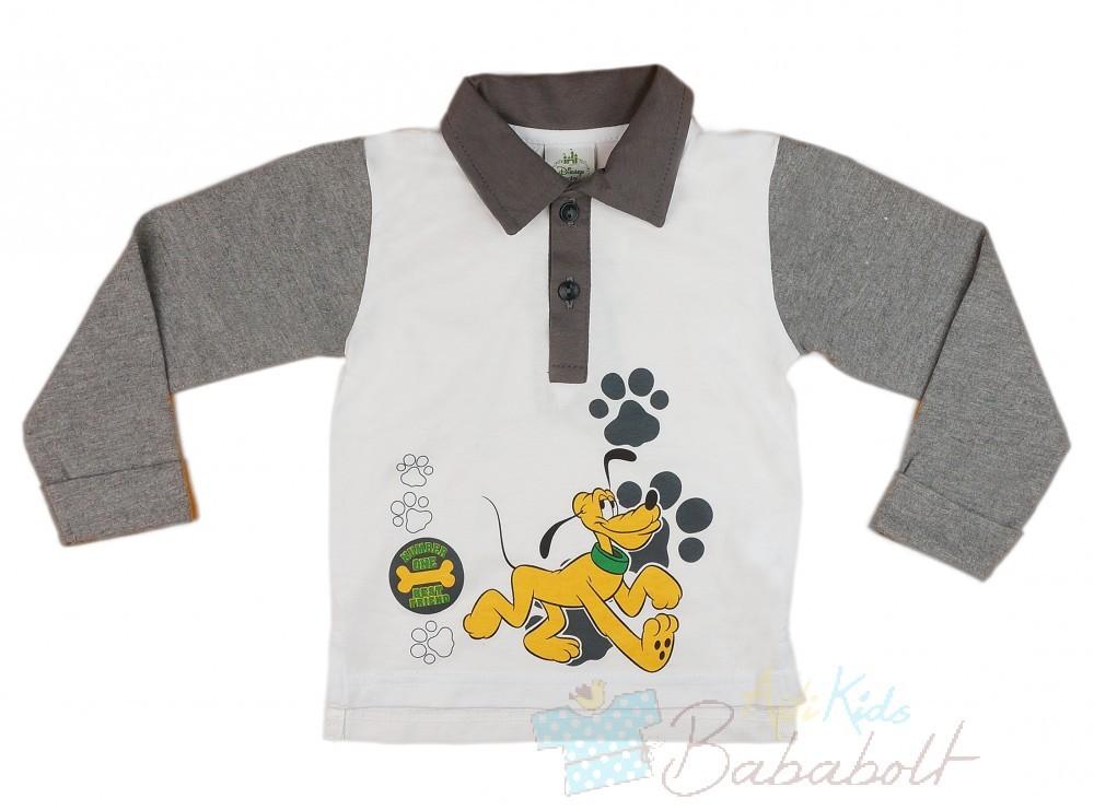 Disney Plútó hosszú ujjú galléros póló( méret 74-110) - Póló ... d5f67d731d