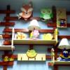 Babaszoba dekorációk éjjeli lámpák